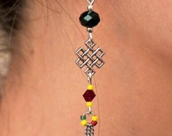 Earrings Sun Catcher