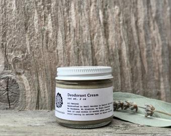 Deodorant Cream // Jar