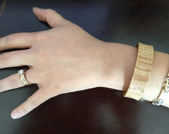 Oak Wood Bangle