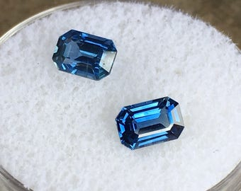 Matching Sapphires 1.57 cts.