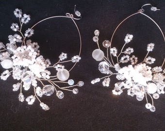 Weddings  Accessories wedding accessories  bride accessories  earrings Bridal earrings