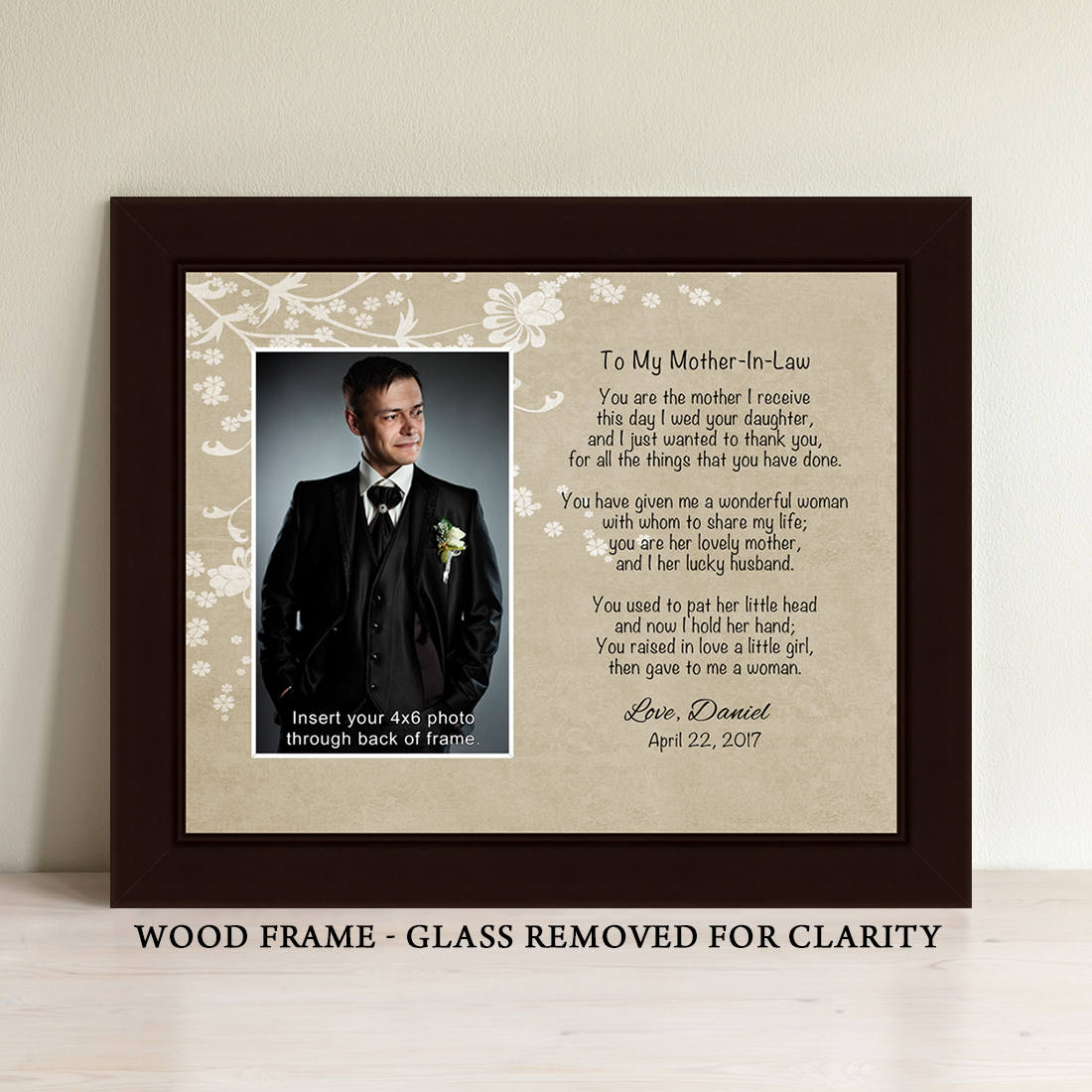 Mother In Law Gifts Wedding: Mother In Law Frame Mother In Law Gift Wedding Personalized