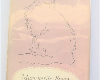 """Marguerite Steen """"Little White King,"""" First Edition, 1956. Animal stories. Cats. Cat biography. Feline. Cat lovers."""