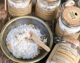Bath Salts + Luxury + Essential Oils + Unique Gift