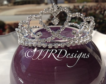 Sofia the First Inspired Tiara- Sofia the First Inspired headband- Tiara Headband- Full Crown-Newborn Tiara- Tiara- Full Crown-Sofia Tiara