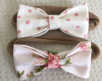 Rose spring headband collection