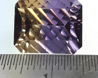 Ametrine Faceted Stone!