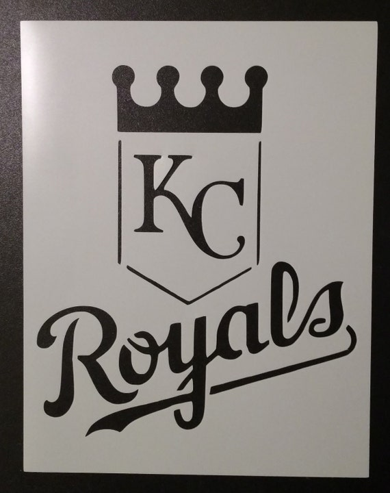 Kansas City Royals Custom Stencil FAST FREE SHIPPING from ...