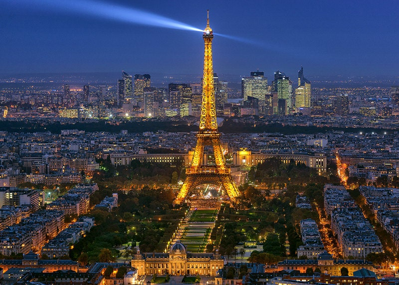 Infos sur paysage urbain paris arts et voyages for Paris paysage