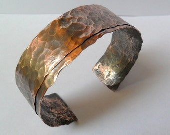 The Everyday Copper Cuff for men or women