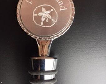 Plum Island Wine Bottle Topper