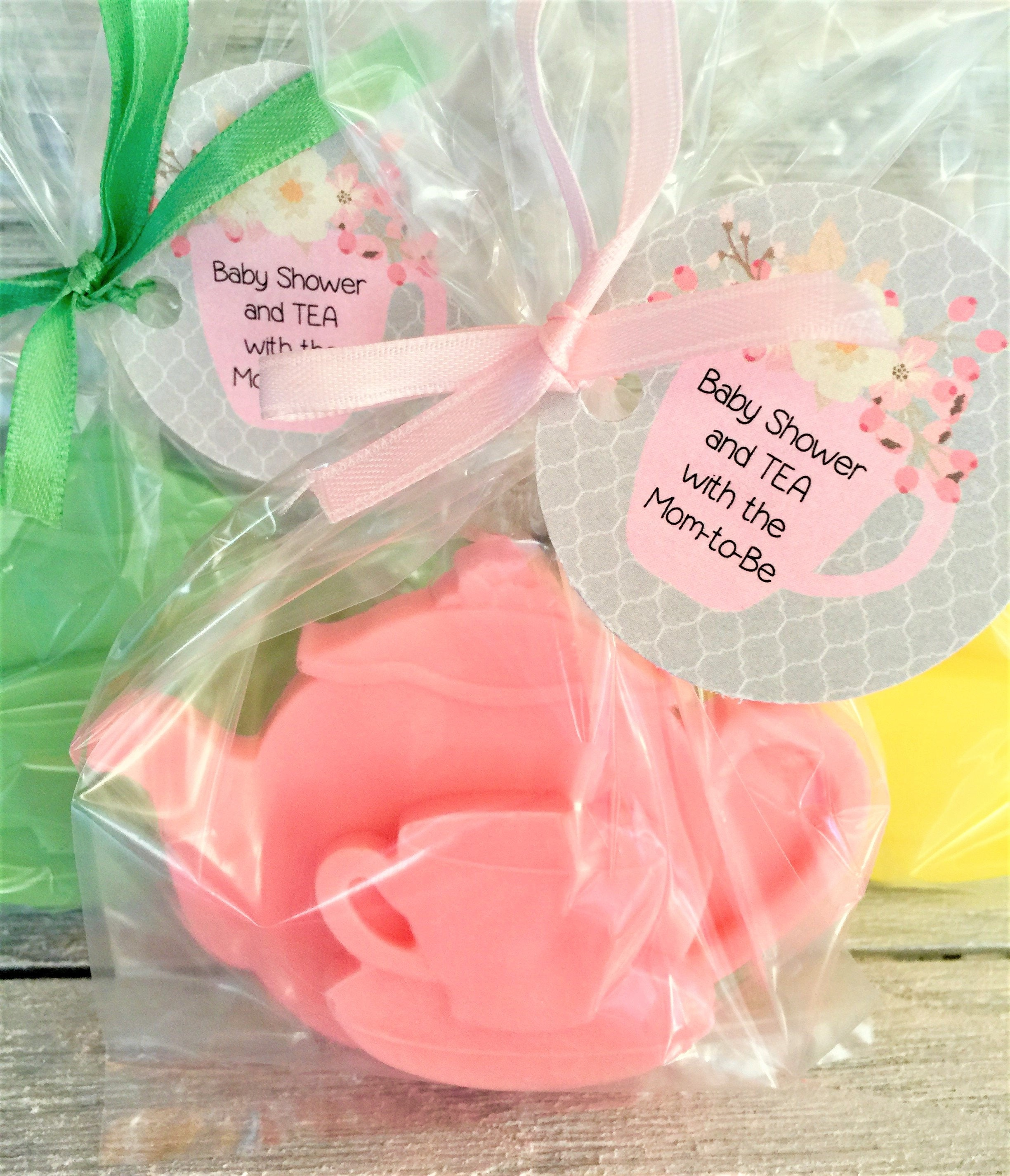 Tea Party Soap Favors: Baby Sprinkle Favors Baby Shower