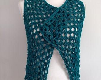 crochet women's vest, crochet vest. Hand made