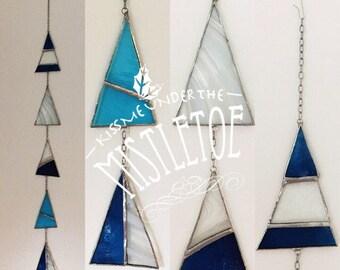 Christmas pendant of glass Sale!