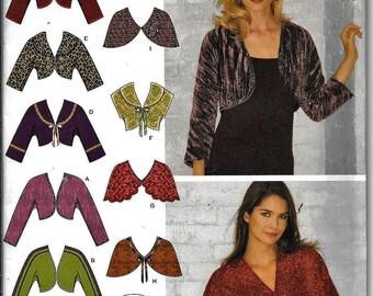 Simplicity 3921 Bolero & Capelets Sewing Pattern UNCUT Size 8, 10, 12, 14, 16
