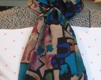 Mobius, infinity scarf with a twist