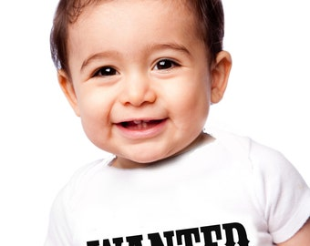 Baby onesie, WANTED