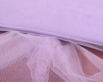 Lavender Net Fabric, Material Netting, Petticoat Net, Sold By The Metre