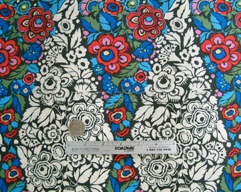 Amy Butler TRAPEZE Charcoal Ab116 Cotton Quilt Fabric - HAPI Cotton Collection - By the Yard