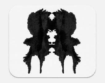 Rorschach Inkblot Therapist Office Decor Mousepad