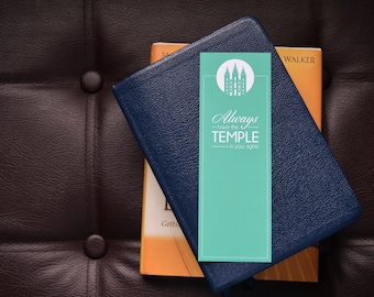 LDS Temple in Your Sights - Bookmark