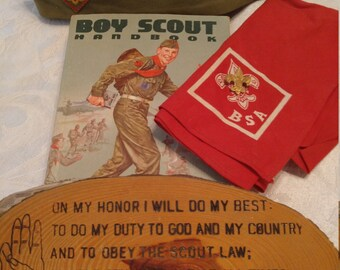 Vintage 1959 Boy Scouts of America Items