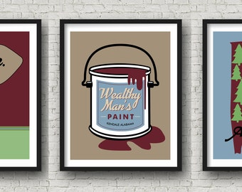Jason Isbell Inspired Fan Art Collection | Poster Print | 11x14 | Minimalist | Lyric Art