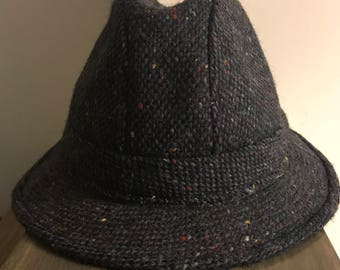 Vintage Irish Tweed Wool Hat made In Ireland