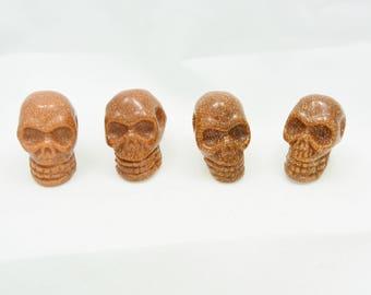 Goldstone Mini Skull