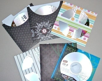 Bundle #1 - Card or CD Envelopes (svg/pdf) - INSTANT DOWNLOAD