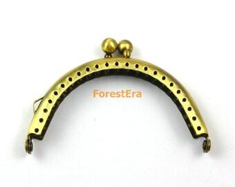 Purse Frame 8.5CM Antique Brass Bag Purse Frame Handbag Frame (KJJ2)
