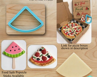 Quarter Circle Cookie Cutter, Pizza Cookie Cutter, Watermelon Cookie Cutter