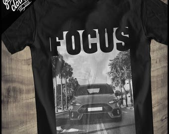 "Ford Focus RS MK3 ""Palm Beach Road"" Shirt"
