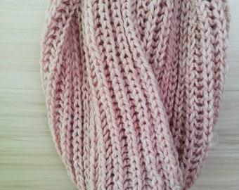 Kniting shawl, knitting snood