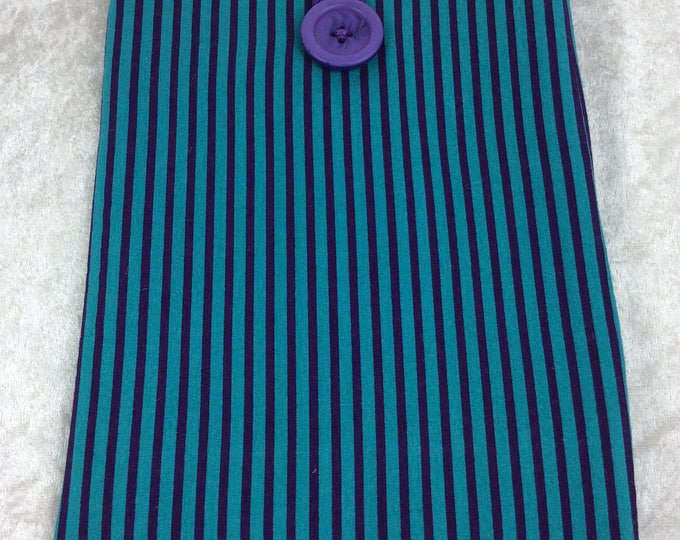 Handmade Tablet Case Cover Pouch iPad/Kindle SMALL Stripes