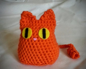 MICIOMAO amigurumi crochet stuffed CAT toy, keyring
