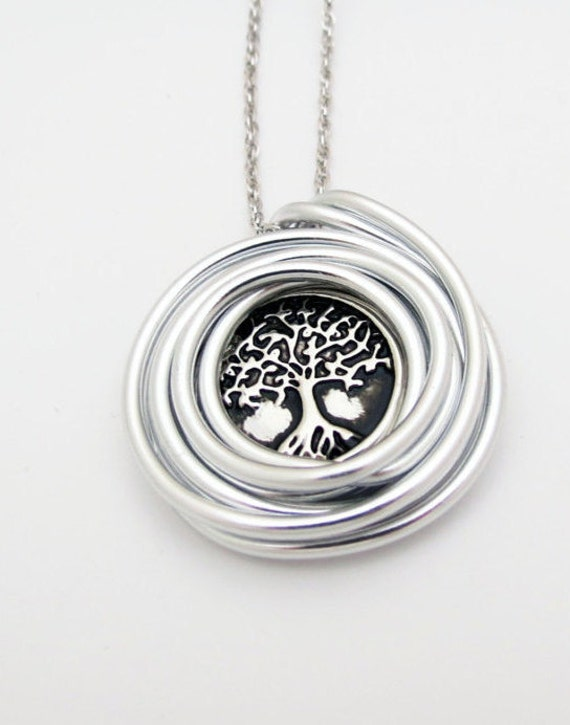 Tree Of Life Necklace Tree Of Life Pendant Wire Wrap Tree Of