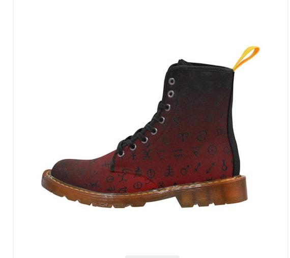 Alchemy Symbol boots Ladies