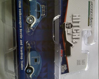 VW Bug With Teardrop Trailer new in blister