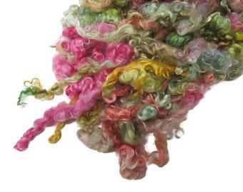 First Clip Kid Mohair wool locks , colour AF-42