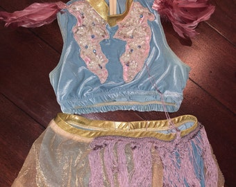 Adult small/child large costume