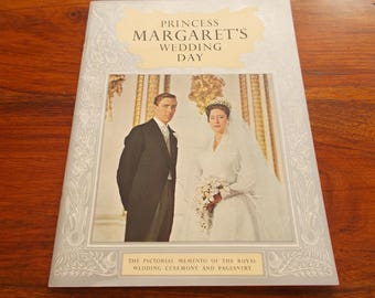 card wraps Princess Margarets Wedding day 6th may 1960