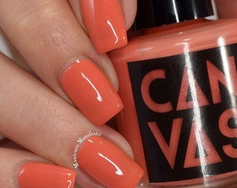 Blinky The Fish by CANVAS lacquer - creamy coral
