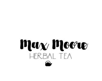 Tea pot logo design premade