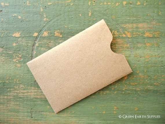 100 gift card sleeves gift tag sleeve credit card envelope 100 gift card sleeves gift tag sleeve credit card envelope business card sleeve key card sleeve recycled kraft brown 2 38 x 3 12 reheart Gallery