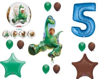 The Good Dinosaur 5th Happy Birthday Party Balloons Decoration Arlo Spot