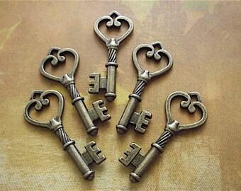 Antique Bronze Keys - 5 - Antique Bronze - Keys  (ABHK)