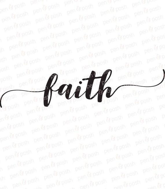 faith svg faith clipart faith dxf decoration svg rh etsy com christian faith clipart faith formation clipart