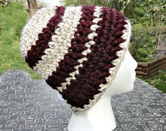 Wool Blend Crochet Hat