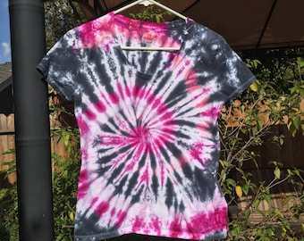 Womens Small, spiral tie dye